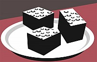 Free Cake And Piece Illustration