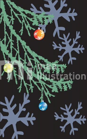 Free X'mas tree Illustration