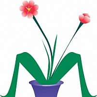 Free Flower Pot Illustration