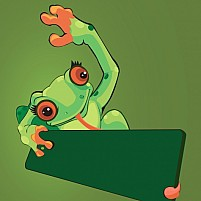 Free Frog Illustration