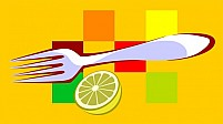 Free Fork,And Lemon Illustration