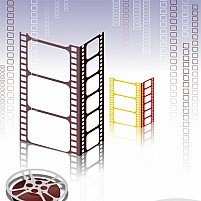 Free Film With Number Illustration