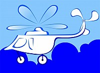 Free Helicopter Illustration