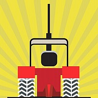 Free Tractor Illustration
