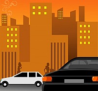 Free Two cars Illustration