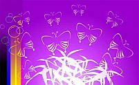 Free Butterflies Illustration