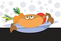 Free Crab Illustration