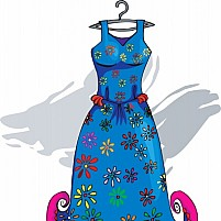 Free Frock Illustration