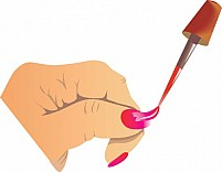 Free Nail Polish Illustration