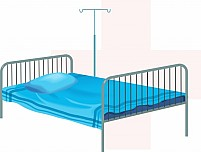 Free bed Illustration