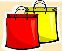 Free Shopping Bags Illustration