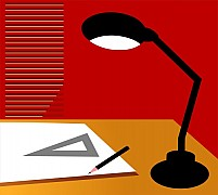 Free Table Lamp Illustration