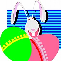Free Easter Egg With Picture Illustration